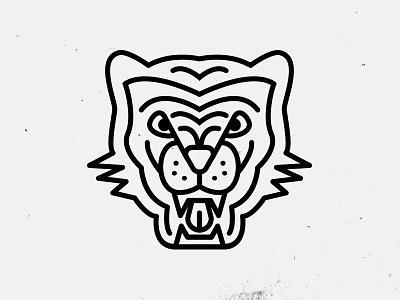 Tiger illustration tiger line justin barber