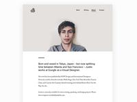 Portfolio – About