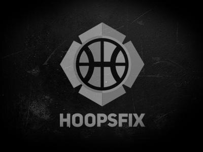 Hoopsfix logo hoopsfix basketball justin barber