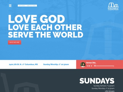 Church Site Redesign