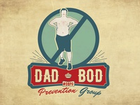 Dad Bod Prevention Group Logo
