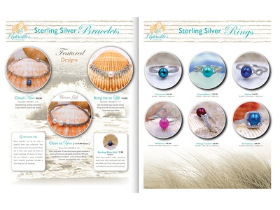 Aphrodites Oysters Catalog Pages