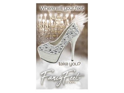 Fancy Feet Dress Shoes Ad