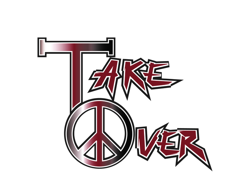 Take Over Logo Design design branding graphic design brand logo branding designer