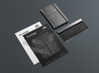 Stationery Consultant identity concept