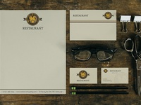 Identity concept for rustic restaurant