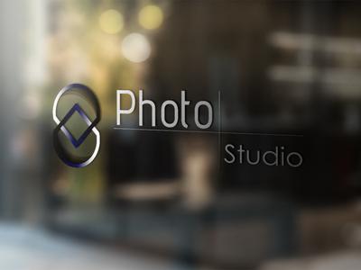 Photo Studio Concept business card vector photography logo illustration branding logo identity icon logo identity design logo a day illustrator cc illustrator icon flat brand identity logo adobe illustrator