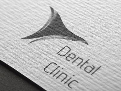 Logo for Dental Clinic branding vector logo a day illustrator cc illustration logo identity design illustrator icon flat brand identity logo adobe illustrator