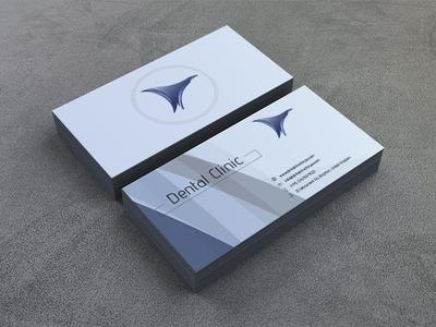 Business Card for Dental Clinic concept printdesigner print typography business card icon logo design logo identity illustrator flat brand identity adobe illustrator
