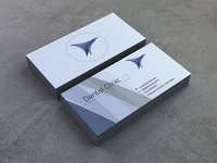 Business Card for Dental Clinic concept
