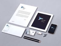 Stationary for Dental Clinic Branding Concept