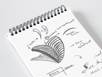 "Thoughts on my final logo concept ""BookLife"" concept brand sketch bookstore branding vector logo identity illustrator icon flat brand identity logo design adobe illustrator"