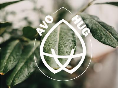 AvoHug illustrator vector graphic design edinburgh vegan illustration branding product design print design brand identity logo adobe illustrator