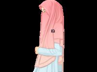Vexel Art Women Moeslim