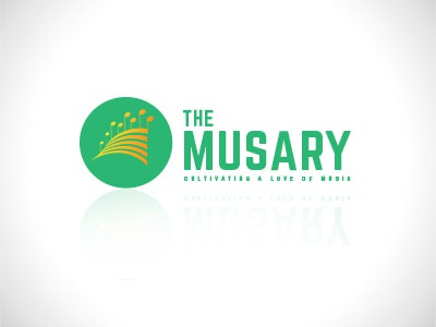 The Musary — Music Cultivation Logo