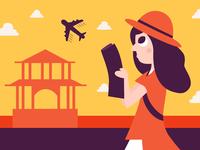 Traveller girl