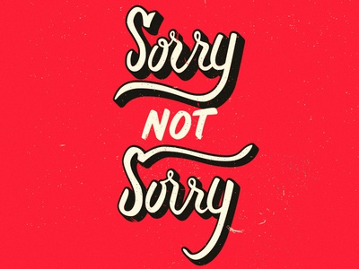 Sorry Not Sorry - Red largest supplier cheap price outlet deals 0btQnp5H5