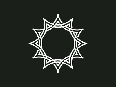 GM logo_v1 branding identity logo logomark sun solar wip