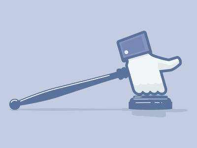 Facebook arbitration illustration law arbitration concept