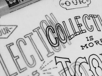 Sneak Peak 2 illustration hand lettering lettering typography campaign