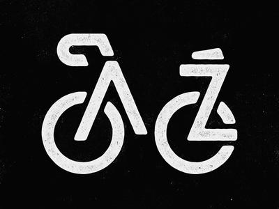 Bike AZ identity logo arizona bike