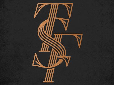 ThreeSevenFive™ monogram typography type lettering identity branding monogram