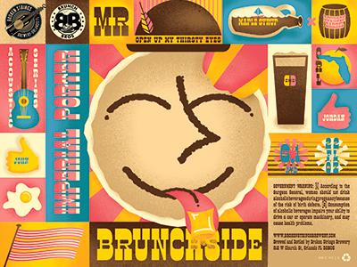 Mr Brunchside brewing packaging beer