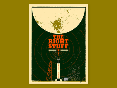The Right Stuff Poster florida space national geographic nasa space coast