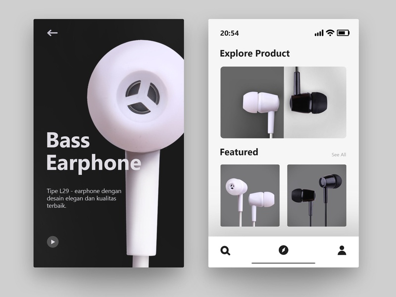 Relationship between product and visual app design ui