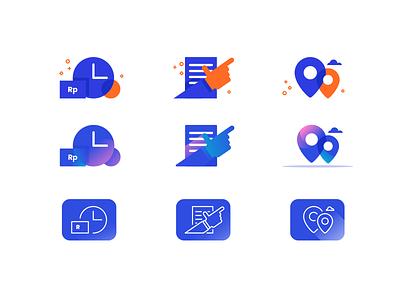 Icon Style Alternative icon app app illustrator ui design