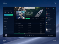 Redesign spotify