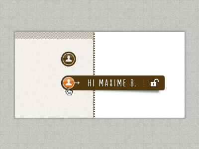 User design ui button
