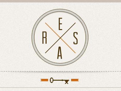 Logo Resa v02 logo design ui