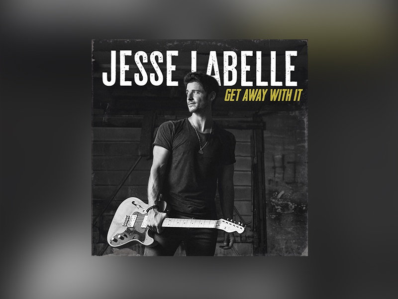 "Jesse Labelle ""Get Away With It"" single graphic music album cover"