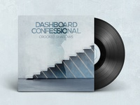 """Dashboard Confessional """"Crooked Shadow"""" graphics music single cover album"""