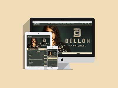 Dillon Carmichael Website nashville country artist music website