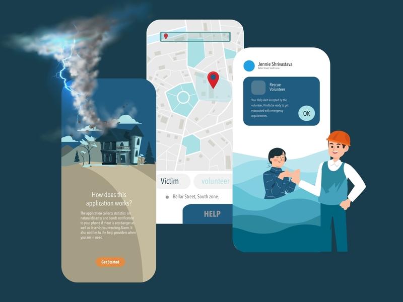 Disaster management app