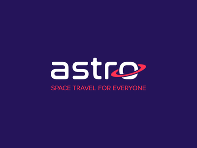 Astro Spacelines saturn astro logo nasalization proxima nova future planet travel space