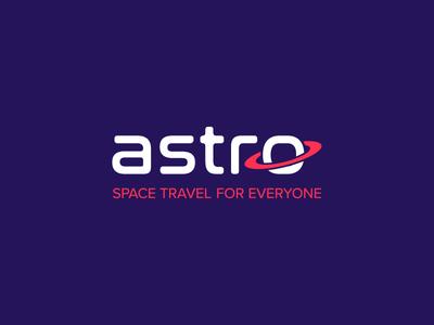 Astro Spacelines saturn astro logo nasalization proxima nova future planet travel space