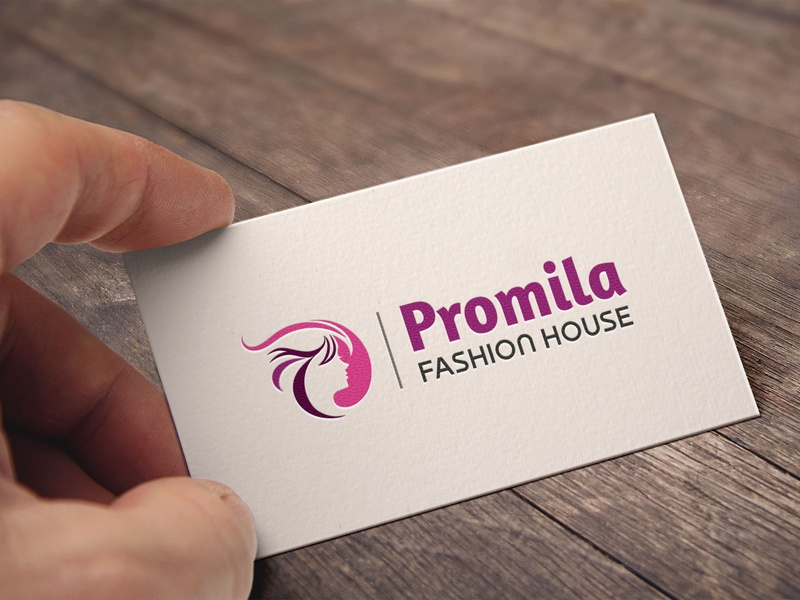 Promila Fashion House logo business logo branding logo
