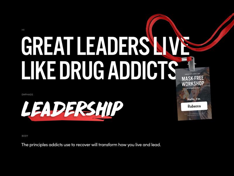 MBW Branding typography design personal brand leadership dark ui web design typography branding design ui