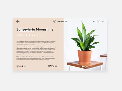 Plantatree E-Commerce Website