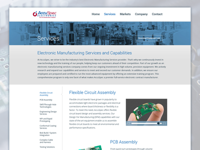 Services blue ui ui design web design web design interface clean