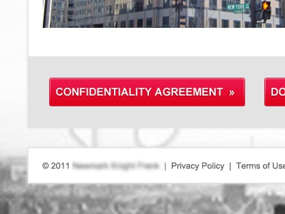 Confidentiality Agreement real estate commercial red neutral button
