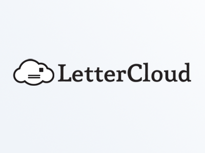Cloud vector illustration logo cloud envelope