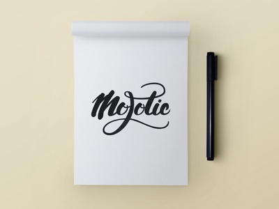 Mojotic crayolettering music festival mojotic hand lettering handlettering handwritten handmade calligraphy