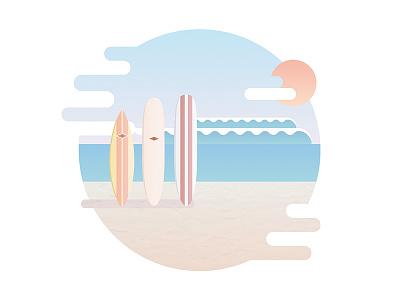 Big Wednesday by John Milius wave ocean beach seaside illustrator illustration vector bigwednesday movie surfer surf