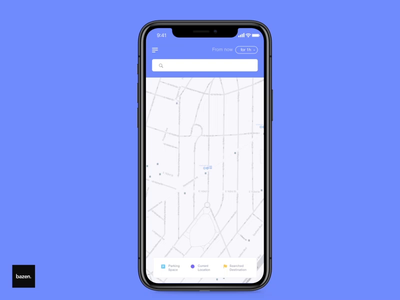RJ Parking App Animation