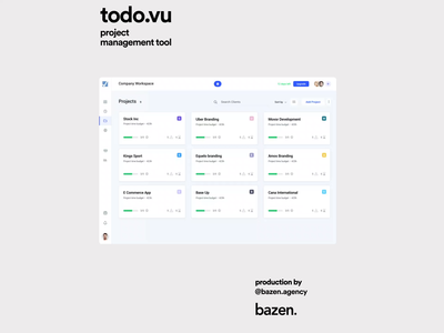 Todo.vu Project Management Tool