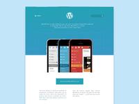 Wordpress Homepage Redesign